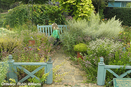 'The Herb Garden' - The Barnsdale Gardens (BBC Gardeners World), Rutland (UK)