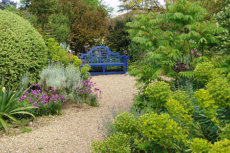 Denmans gardens - West Sussex (UK) <br />  Eigenaar: John Brookes (tot 1980: Joyce Robinson)
